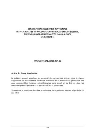 Convention collective nationale de la pâtisserie du 30 juin 1983