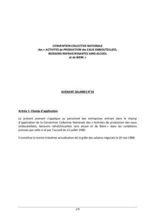Publicité – Nouvelles dispositions sexuées de la Convention Collective